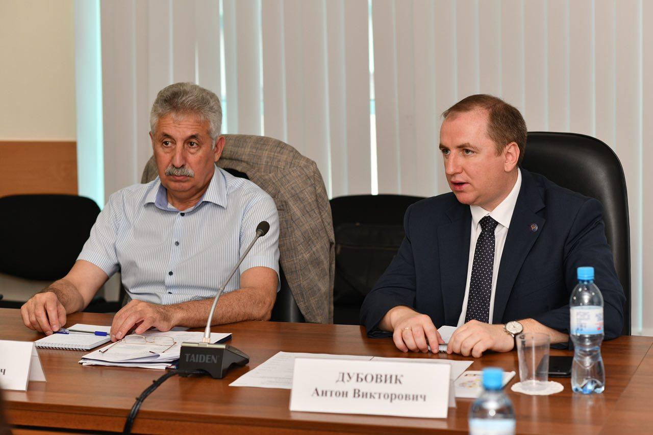 Заседание Совета руководителей территориальных органов Федерального казначейства в Северо-Кавказском федеральном округе