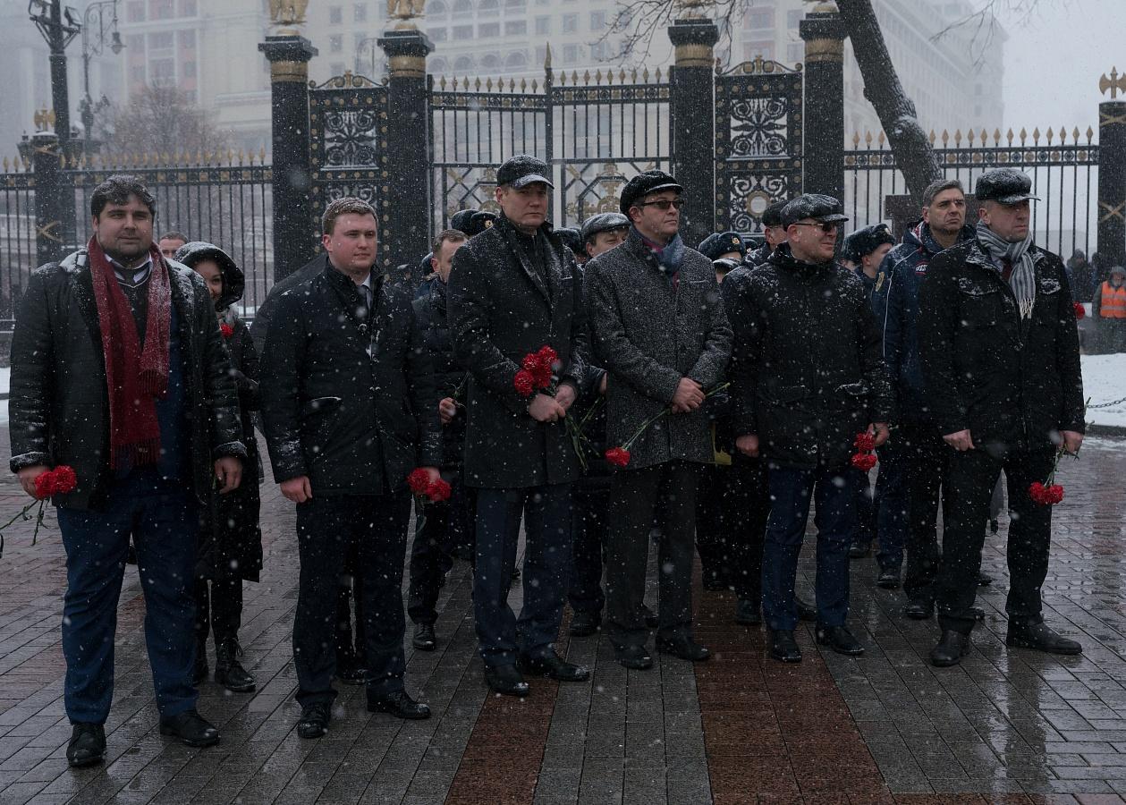 Руководитель Казначейства России Роман Артюхин принял участие во Всероссийской Вахте памяти
