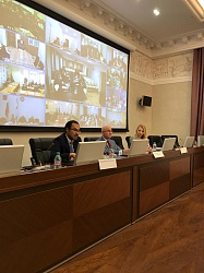 В Федеральном казначействе состоялось совещание по вопросам подведения итогов первого этапа тестирования участников Третьего Всероссийского конкурса управленцев «Лидеры России»